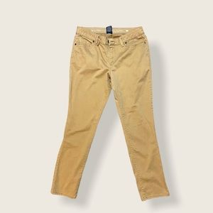 FADED GLORY SKINNY PANTS TAN